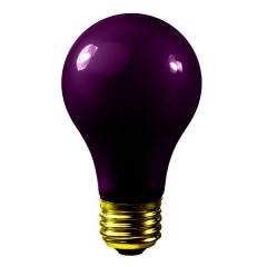 Black Light A19 Incandescent Bulb 75W