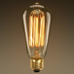 Edison Bulb -Antique Style Bulbs (ST64)