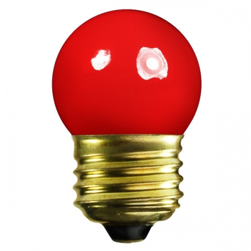 Color S11 G40  Incandescent Light Bulbs