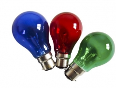 Color Incandescent Bulb