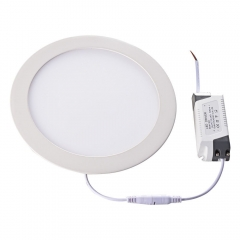 Dimmable SMD2835 slim led panel 7W 12w 18W round c