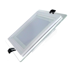 LED  12W Square Glass LED Panel Light